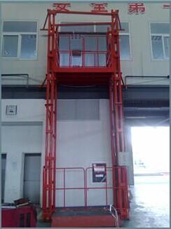 室外安装升降货梯